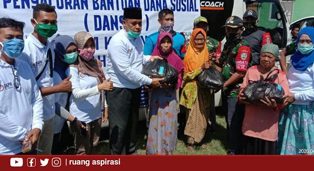 Gerakan Peduli, DAPM Kecamatan Kapongan Berbagi Ke Desa-Desa