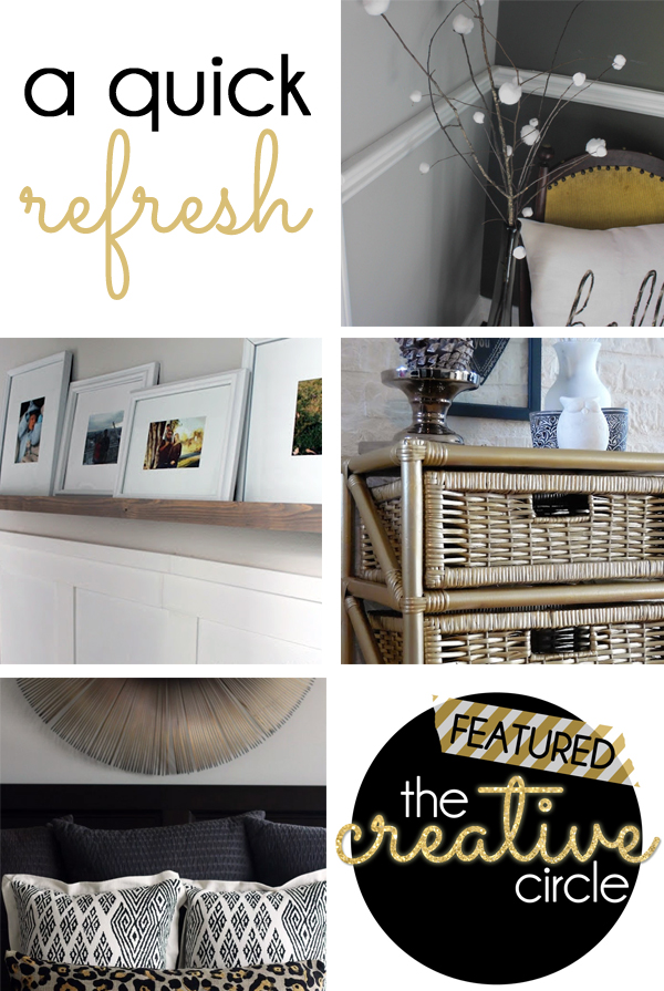 Quick Refresh Featured at Creative Circle