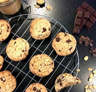 image Cookies ultra bons : crousti-moelleux et gonflés !!