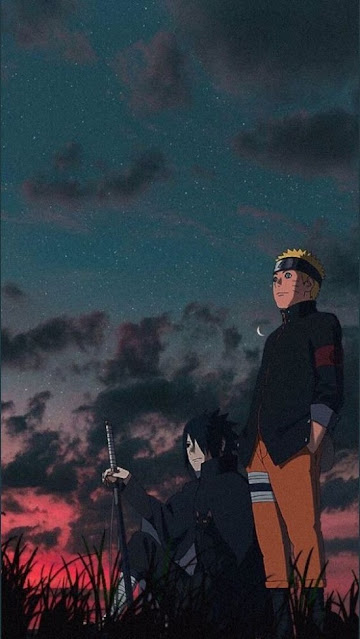 wallpaper sasuke dan naruto