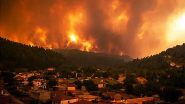 الجزائر: مقتل 5 أشخاص الأمس الاثنين نتيجة حرائق الغابات