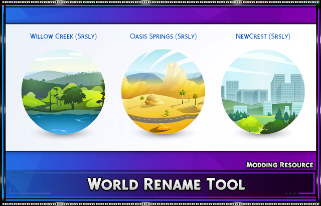 World Rename Tool