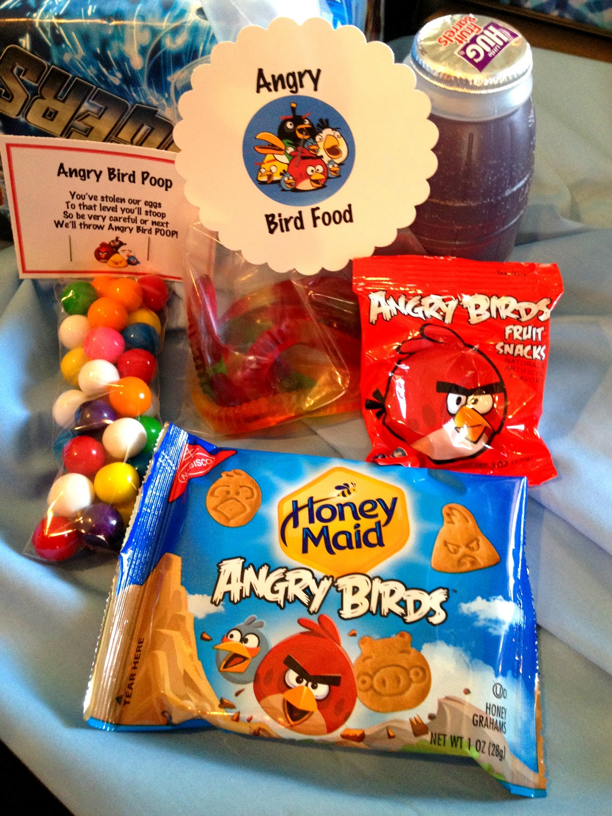Marci Coombs Angry Birds Birthday Party