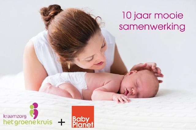 Kraamzorg Het Groene Kruis en BabyPlanet vieren samenwerking