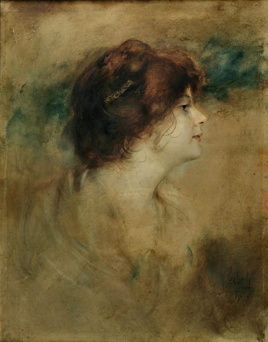 Franz von Lenbach ~ Pintor de retrato