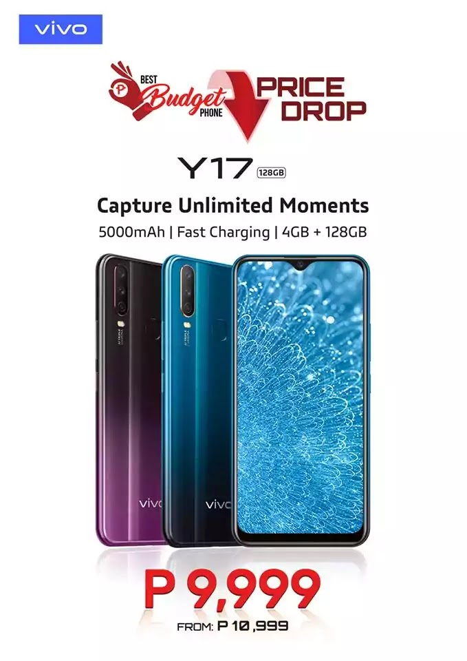 Vivo Y17 Price Drop