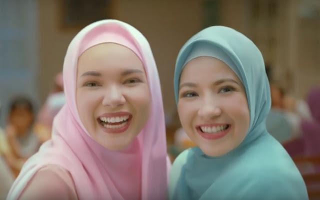 Wanita Hijab Cantik Iklan Wardah Cantik Dari Hati