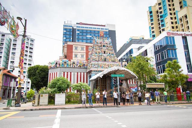 Srinivasa Perumal temple-Little India-Singapore