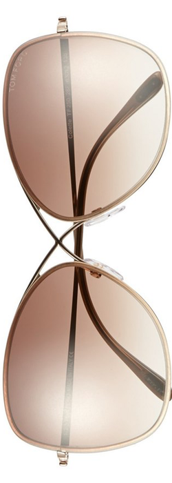 Tom Ford 'Colette' 63mm Sunglasses