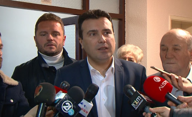 Zoran Zaev ready for pre-election coalition with Albanian parties