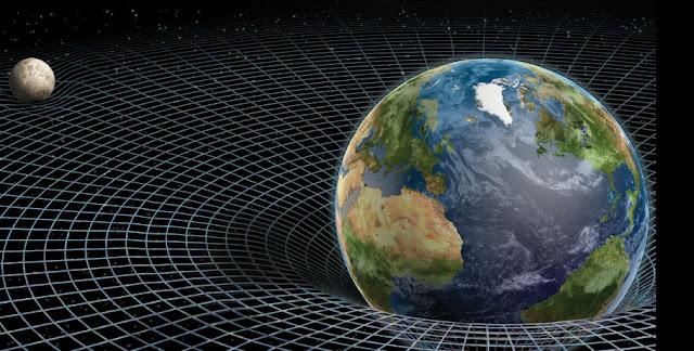 نظرية انشتاين الجاذبية الزمكان