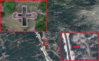 ΒΙΝΤΕΟ: Το κάστρο σε σχήμα σταυρού δίπλα στην Ιόνια Οδό, στα Πέντε Πηγάδια, που παραμένει όρθιο ακόμα και στις μέρες μας! – Η τύχη του αρχιμάστορα