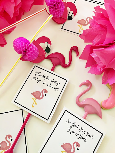 Flamingo puns @michellepaigeblogs.com