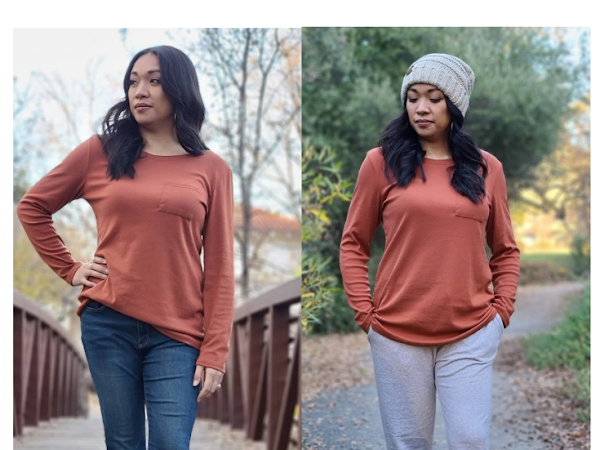 How to Style a Basic Long Sleeve Tee