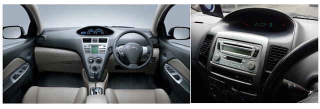 interior toyota vios-limo generasi pertama 2003