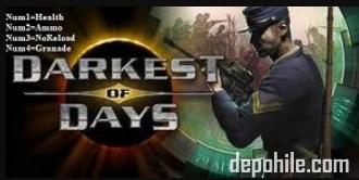 Darkest of Days (PC) Oyunu Can, Mermi +4 Trainer Hilesi İndir