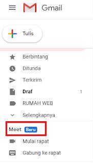 """Fitur  Baru """"MEET"""" Pada Gmail Bisa Dimanfaatkan Untuk Rapat Online"""