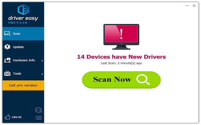 Driver Easy Professional 5.6.13.33482 Repack - Tìm kiếm drive cho máy tính