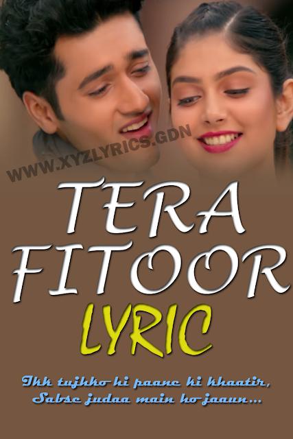 TERA FITOOR LYRIC | Genius | Arijit Singh | Utkarsh Sharma | Video