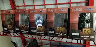 Godzilla toys at Acme Comics in Sioux City