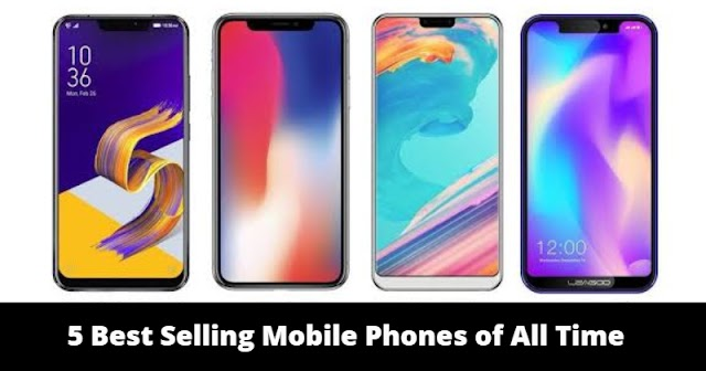 5 Best Selling Mobile Phones of All Time