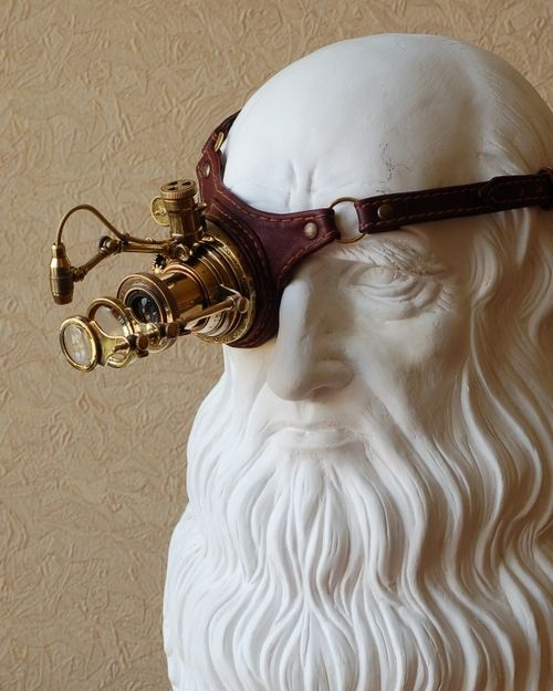 Steampunk Inspired Monogoggle