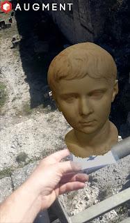 Realidad aumentada en la ciudad romana de Ercávica