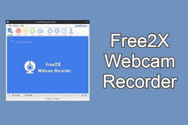 Free2X Webcam Recorder - Εύκολη καταγραφή βίντεο από οποιαδήποτε webcam