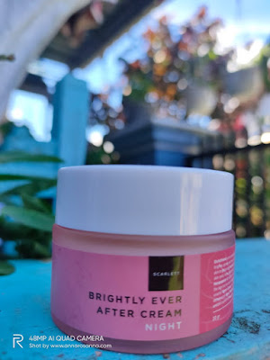 scarlett brightly ever after cream night review