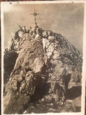 Bergsteigen vor knapp 100 Jahren