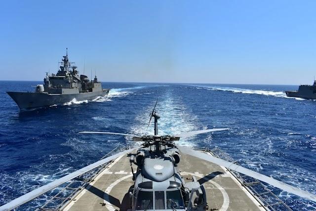 Η Ελληνική απάντηση στις πολεμικές ιαχές της Άγκυρας: «Γεράκια» στην Κύπρο-Ο Στόλος στο Αιγαίο