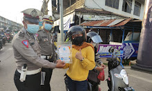 "Polisi Melawi Imbau Masyarakat Jangan Mudik: ""Jangan Bawa Virus"""