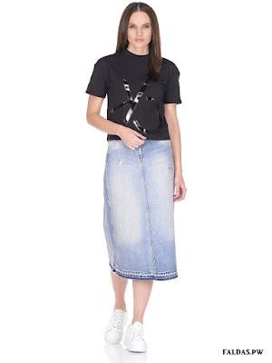 Faldas con Zapatillas