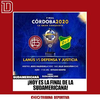 ¡HOY ES LA FINAL DE LA SUDAMERICANA! ⚽️ 🇦🇷