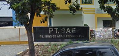 Lowongan Kerja Jobs : Operator  Produksi Min SMA SMK D3 S1 PT Sukses Abadi Engineering