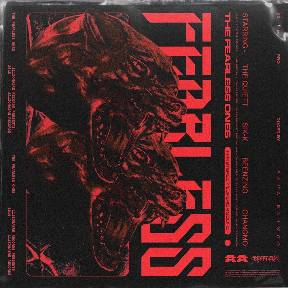 The Quiett, Sik-K, Beenzino, CHANGMO – The Fearless Ones – Single
