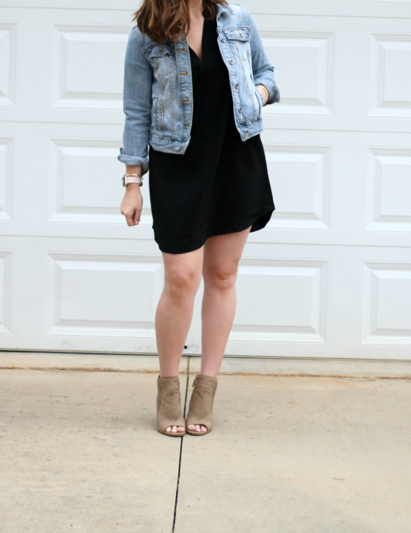 little black dress, north carolina blogger, style on a budget, spring style, what to wear for spring