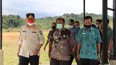 Tinjau Persiapan RS Tapan sebagai Rujukan Covid-19, Gubernur Mahyeldi Serahkan Oksigen Konsentrator