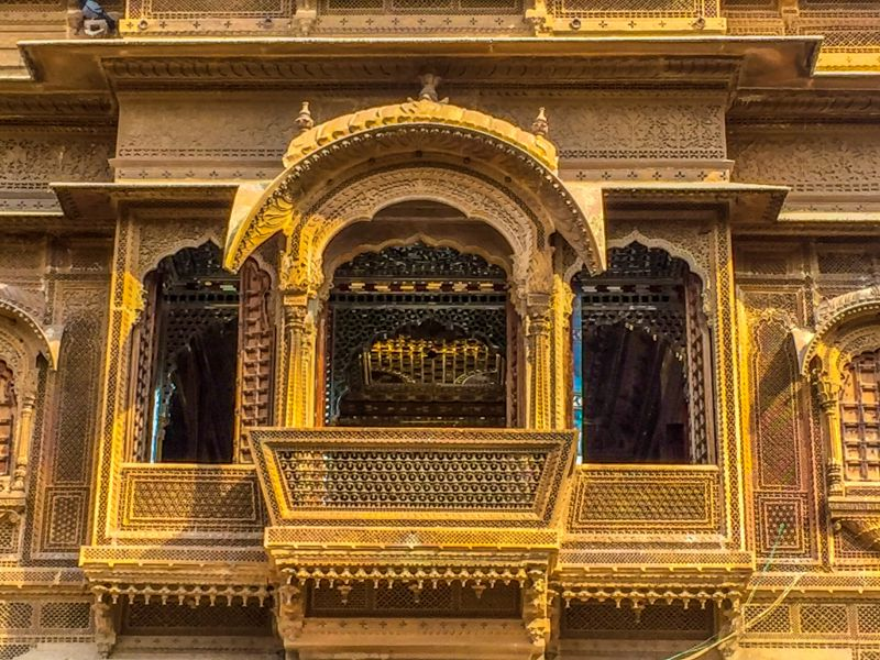 Bikaner & Jaisalmer - Patwa Haveli of Jaisalmer or Patwon Ki Haveli