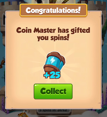 Coin Master Today Spins Links