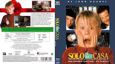 Carátula dvd / Blu-ray: Solo en casa 1990