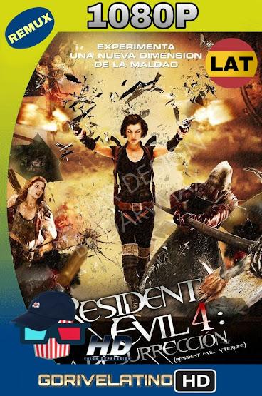 Resident Evil 4: La Resurrección (2010) REMUX 1080p Latino-Ingles MKV
