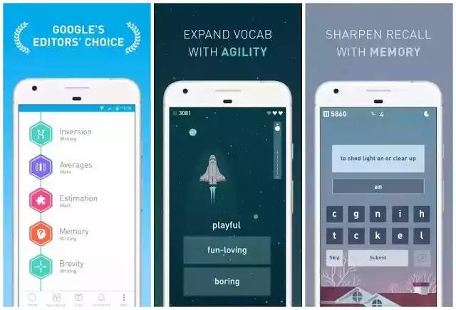 Elevate تطبيق رائع للهواتف المحمولة لتدريب دماغك. الدروس بديهية وممتعة للغاية لمساعدتك على التركيز وممارسة الاستماع والقراءة ومهارات التحدث.
