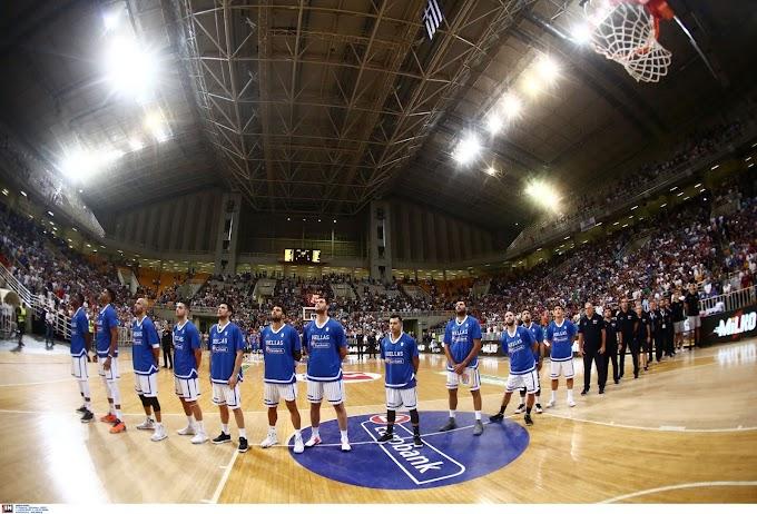 «Περίπατος» απέναντι στην Ιταλία για την Εθνική Ανδρών- Τι δήλωσαν Σκουρτόπουλος, Παπαπέτρου και Λαρεντζάκης-Φωτορεπορτάζ και το στατιστικό του αγώνα