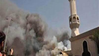 انفجار مسجد بالعريش