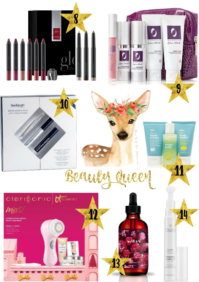 holiday gift guide with gifts for a beauty queen at new york for beginners