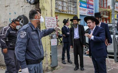 75.000 residentes de Bnei Brak provavelmente têm coronavírus