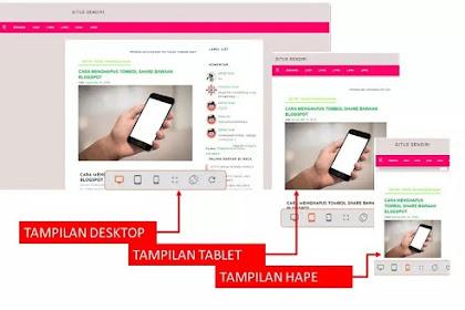 Dasar pengatahuan membuat dan mengedit template web atau blogger