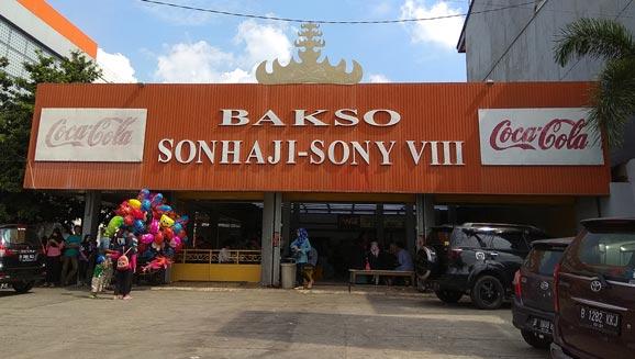 Alamat Bakso Sony Lampung