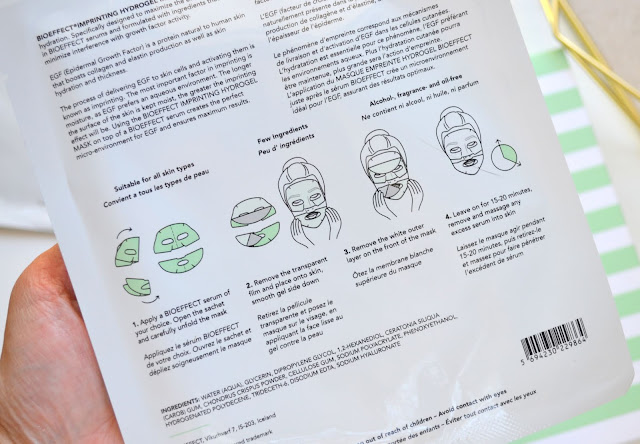 Bioeffect Imprinting Hydrogel Mask Review